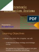 Strategic Information Systems ( Final )