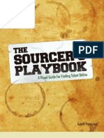 The Sourcers Playbook