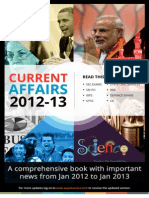 Current Affairs 2012-13