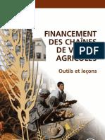 FINANCEMENT DES CHAÎNES DE VALEUR AGRICOLES - Outils et leçons (CTA, FAO – 2013)