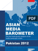 Barometer of Media in Pakistan