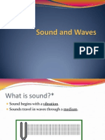 Waves and Sound 2012-13