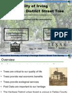 Heritage District Tree Survey