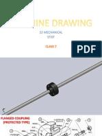 Machine Drawing S3 Mech [Class 7]