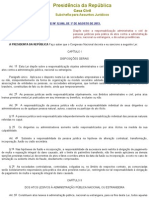 L12846 - Responsabilização de pessoas jurídicas por atos contra a Administração