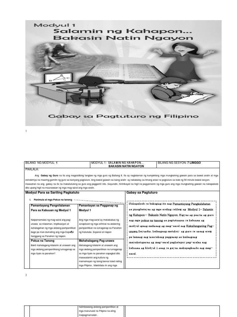 Grade 9 science module pdf download