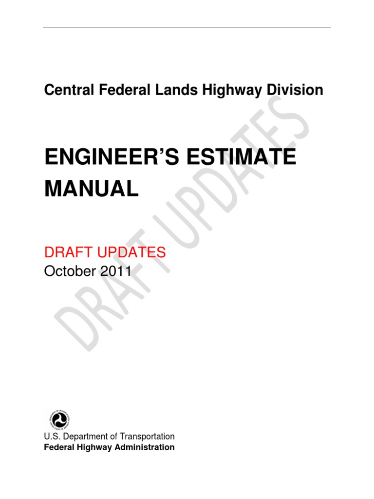 EE Guidance Manual | Road Surface | Concrete