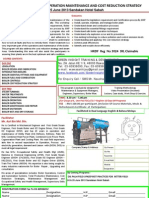 Effective Boiler Plant Operation Maintenance and Cost Reduction Strategy