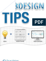 An eBook on Web Designing and Development Tips