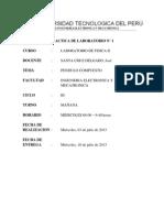 Informe 1 Péndulo Compuesto UTP