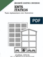 réglementation incendie logements
