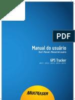 Manual GPS Multilaser Tracker TV
