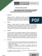 1. Drectiva Nº 008-2012-OSCE