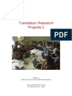 Translation Research Projects 2