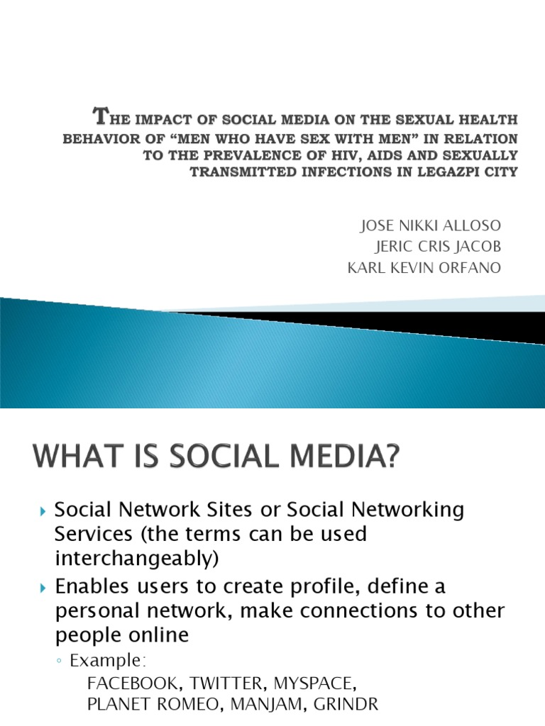 Sexual social networking sites