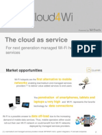 Cloud4Wi - Solution Brief