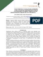 DESENVOLVIMENTO E VALIDAÇÃO DE CONDIÇÕES analiticas para análise LAS
