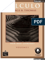 Cálculo - Volume 1 - 11ª Edição - George B. Thomas