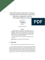 Revista Pensamiento Matematico-Aplicada Ing Civil