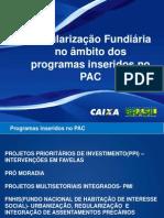 Regularizacao Fundiaria Pac
