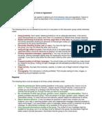Alcatel OT-918N Group Rules and Regulations
