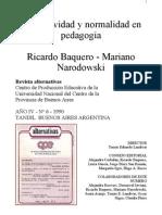Baquero y Narodowsky Normatividad.rtf