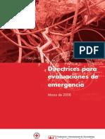 Evaluaciones de Emergencia