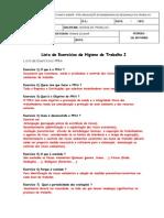 Exercícios 4 - PPRA 2012