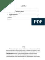 Monetarna Politika Seminarski