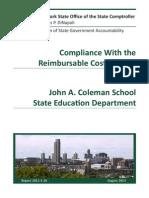 Coleman School Audit