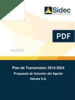 Propuesta de Solucion de Xstrata Para El Plan de Transmision 2015-2024 SIDEC