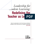 IEL - Redefining teacher as leader.pdf