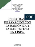 Curso Base de Radionica y Radiestesia