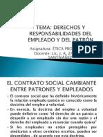 Separata Derechos y Responsabilidades Del Empleado y Del Patron