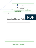 Manual Tecnicas Participativas