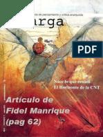 """""""Malas interpretaciones sobre el anarquismo y el anarcosindicalismo"""" Fidel Manrique"""
