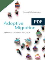 Adoptive Migration by Jessaca B. Leinaweaver