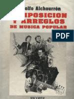 Composición y arreglo en música poopular