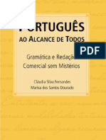 7881 - português ao alcance de todos - gramática e redação comercial sem mistérios - cláudia silva fernandes e marisa dos santos dourado