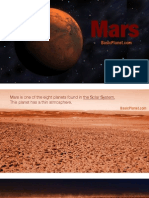 The Planet Mars - Quick facts