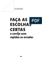 FacaEscolhasCertasCorrija