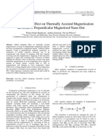 Gilbert Damping Effect on Thermally Assisted Magnetization