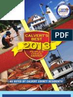 Calvert'sBest 2013