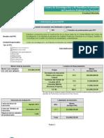 Proyecto de inversión IPN Cinvestav Merida