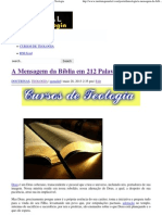 A Mensagem da Bíblia em 212 Palavra _ Portal da Teologia.pdf