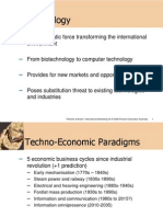 The Technology Environment and Contemporary Environmental Variables