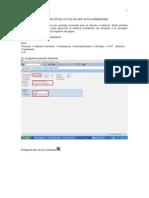 Proceso de Solicitud Anticipo Acreedores SAP