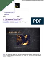 A Natureza e Papel da Fé _ Portal da Teologia.pdf