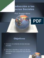¿Cuáles son las ciencias sociales?