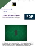 A Obra Literária de Calvino _ Portal da Teologia.pdf